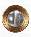 """Silas 21"""" Wall Mirror in Country Gold Leaf"""