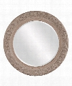 "Vickey 47"" Wall Mirror in Antique Taupe"