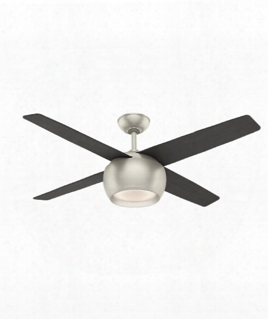 Valby Led 1 Light Ceiling Fan In Matte Nickel
