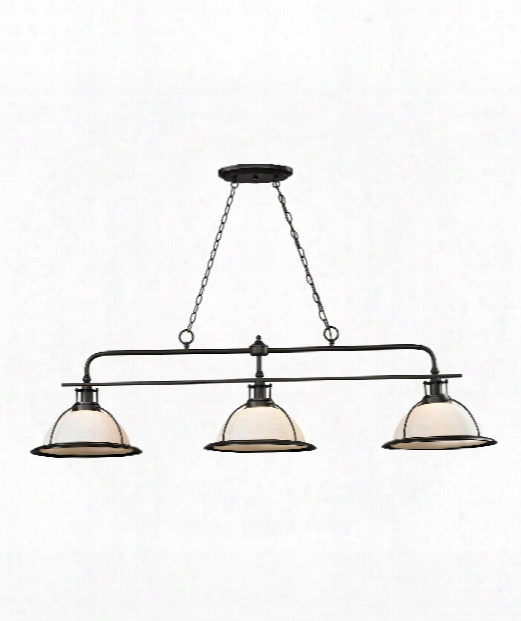 "Wilmington 18"" 3 Light Billiard Light In Oil Rubbed Bronze"