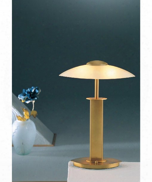 """14"""" 2 Light Table Lamp In Antique Brass"""