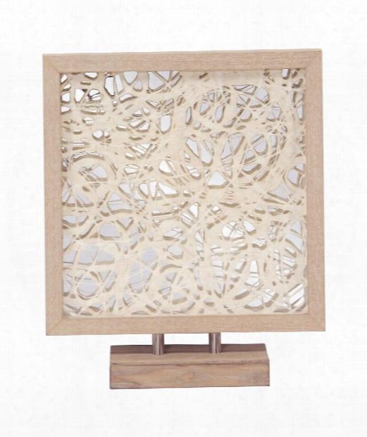 """Abstract 18"""" Figurine In Blonde Maple Veneer"""