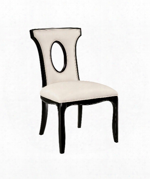 """Alexis 26"""" Occasional Chair In Ebony"""