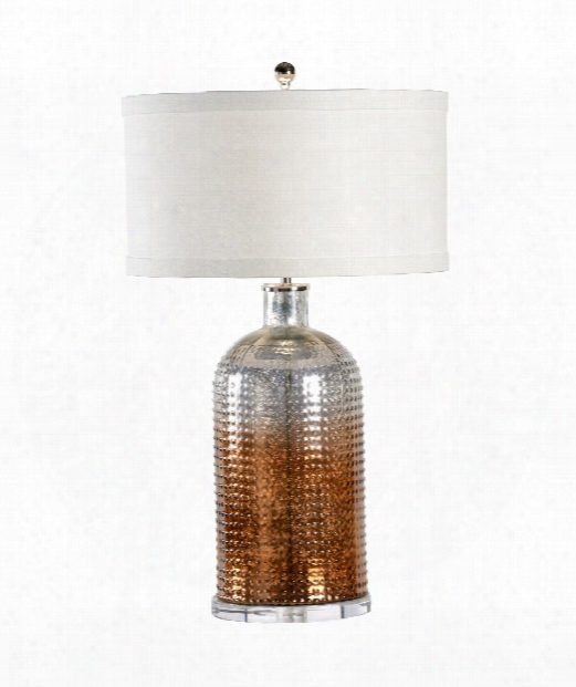 Aramis 1 Light Table Lamp In Ombre Mercury
