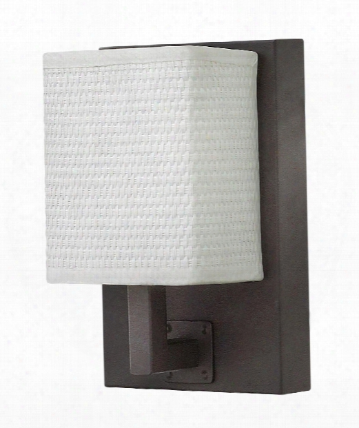 "Avenue 5"" Led 1 Light Wall Sconce In Oil Rubbed Bronze"