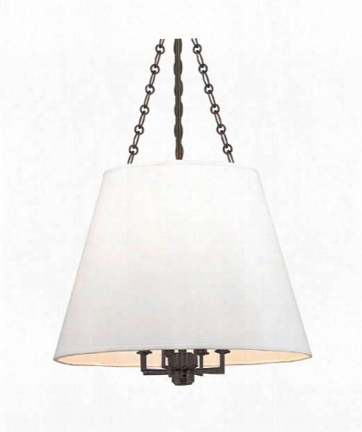 "Burdett 22"" 8 Light Large Pendant In Old Bronze"