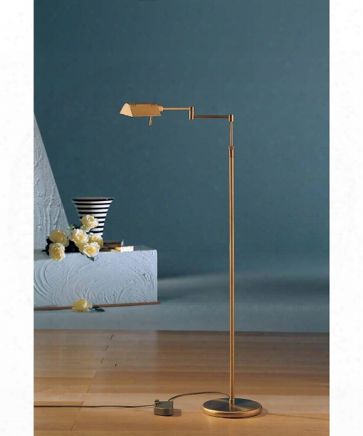 Das Original 1 Light Reading Lamp In Antique Brass