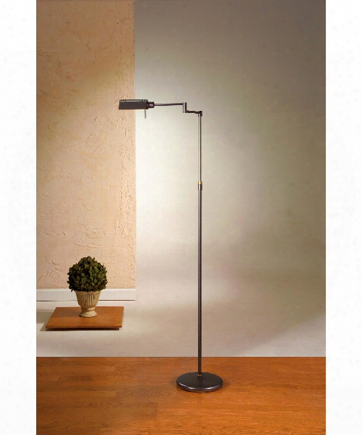 Das Original 1 Ligh Reading Lamp In Hand Brushed Old Bronze
