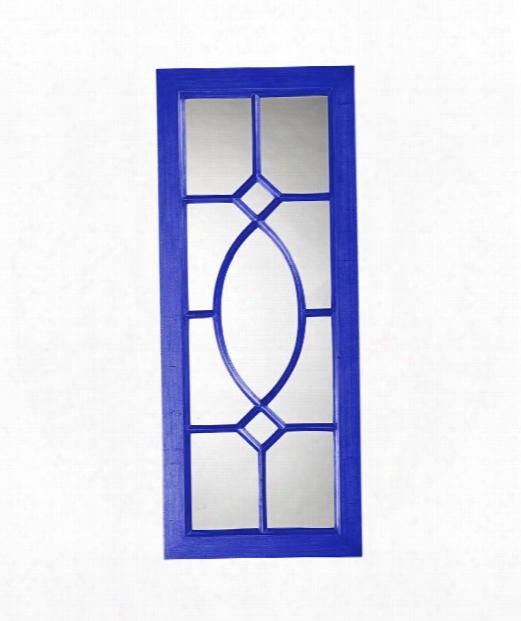 """Dayton 21"""" Wall Mirror In Royal Blue"""