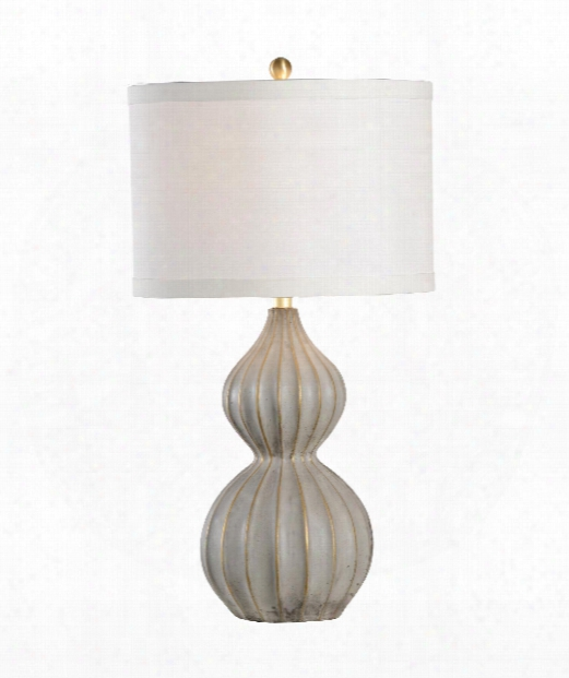 Delphine 1 Light Table Lamp In Antique Gold