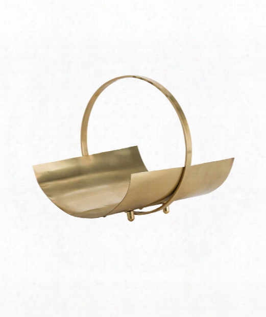 """Dolan 15"""" Other Home Accent In Matte Brass"""