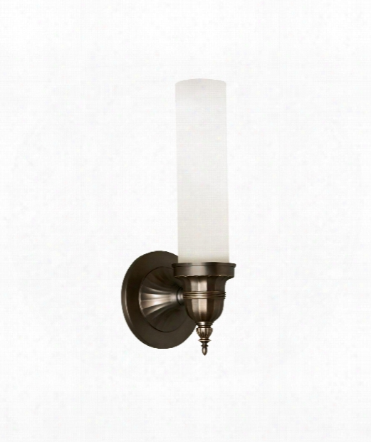 """Linden 5"""" 1 Light Wall Sconce In Antique Bronze"""
