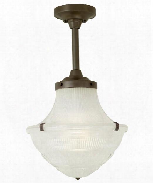 """Pullman 13"""" 1 Light Mini Pendant In Antique Bronze"""
