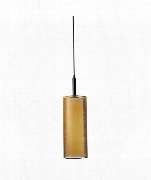 "Puri 5"" 1 Light Mini Pendant In Black Brass"
