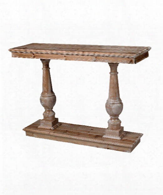 "Spring Creek 48"" Console Table In Wood"