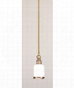 "Chatham 5"" 1 Light Mini Pendant in Distressed Bronze"