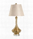 Lucille 1 Light Table Lamp in Acrylic