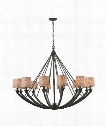 "Morrison 50"" 12 Light Chandelier in Oil Rubbed Bronze"