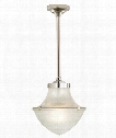 "Pullman 13"" 1 Light Mini Pendant in Polished Nickel"