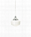 "Tavern 6"" 1 Light Mini Pendant in Satin Nickel"