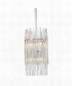 "Wallis 11"" 6 Light Mini Pendant in Polished Nickel"