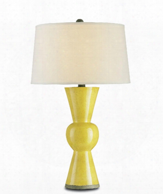 "Upbeat 18"" 1 Ligh Atble Lamp In Yellow"