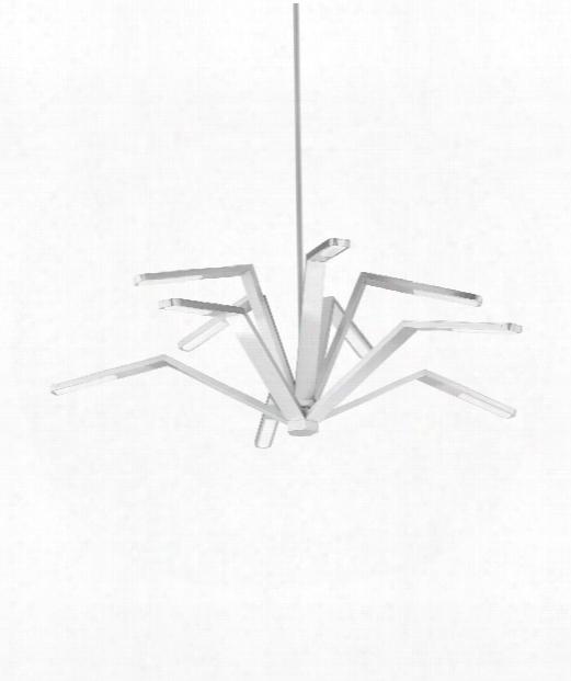 Aragon Led 20 Light Mini Chandelier In Satin Nickel