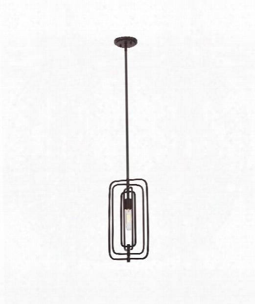 "Berlin 4"" 1 Light Mini Pendant In English Bronze"