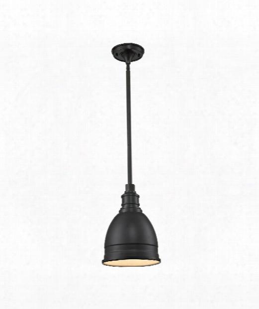 """Carolton 8"""" 1 Light Mini Pendant In Oil Rubbed Bronze"""