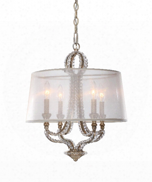 "Garland 14"" 4 Light Mini Pendant In Distressed Twilight"