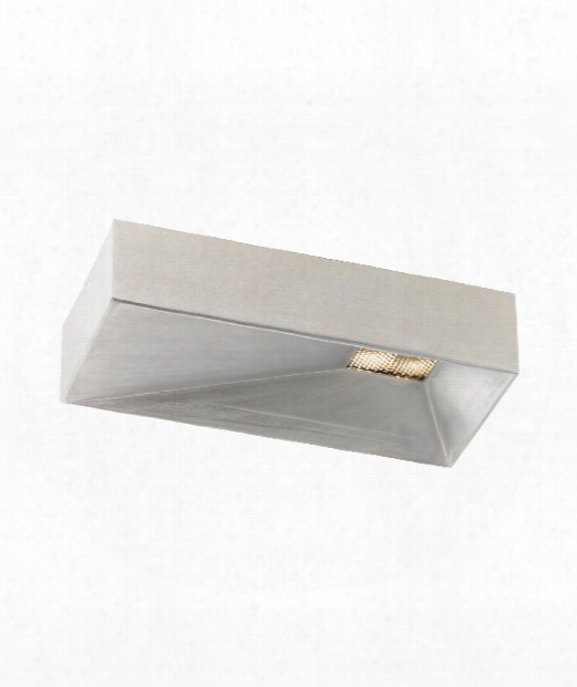 "Kylark 12"" Led 1 Light Flush Mount In Satin Nickel"