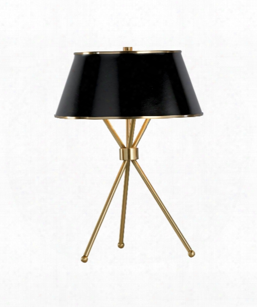Radcliffe 2 Light Taable Lamp In Antique Brass