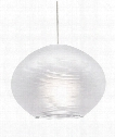 "Circulet 6"" 1 Light Mini Pendant in Chrome"