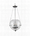 "Havenwood 21"" 6 Light Large Pendant in Chrome"