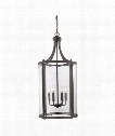 "Penrose 16"" 6 Light Foyer Pendant in English Bronze"