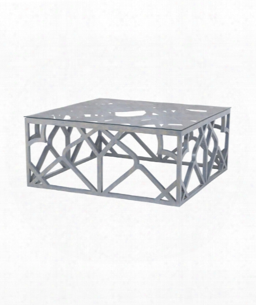 "Bain 42"" Coffee Table In Antique Smoke"