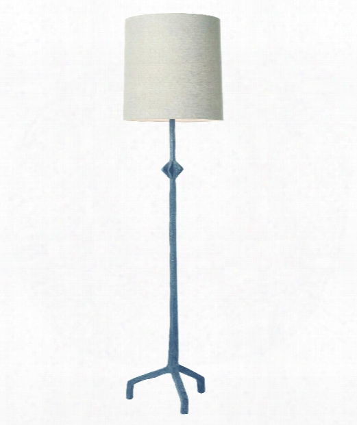 "Barnum 16"" 1 Light Floor Lamp In Brass"