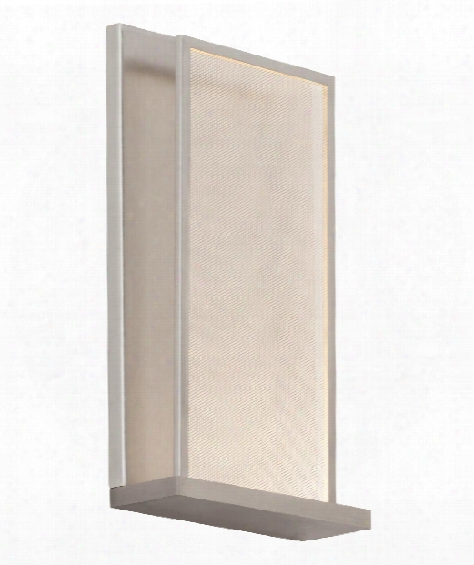 "Istra 2"" Led 1 Light Wall Sconce In Satin Nickel"