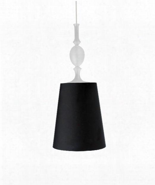 """Kiev 10"""" 1 Light Mini Pendant In Black"""