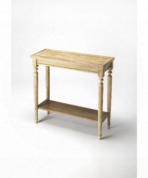 """Masterpiece 29"""" Cnosole Table In Driftwood"""