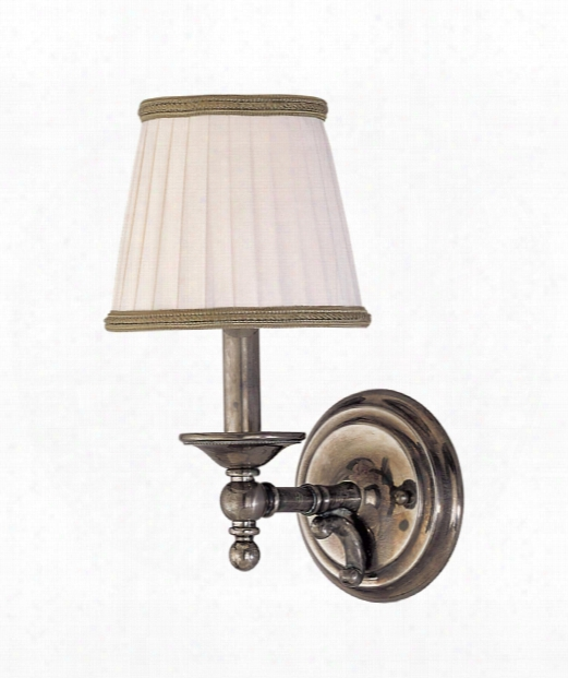 "Orchard Park 6"" 1 Light Wall Sconce In Historic Nickel"