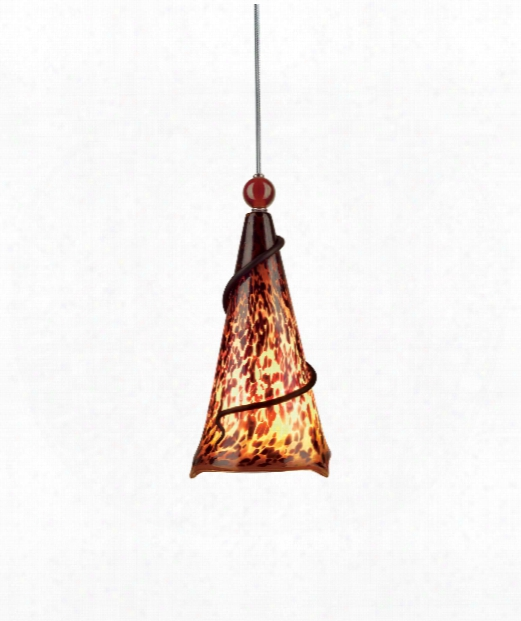 "Ovation 7"" 1 Light Mini Pendant In Black"