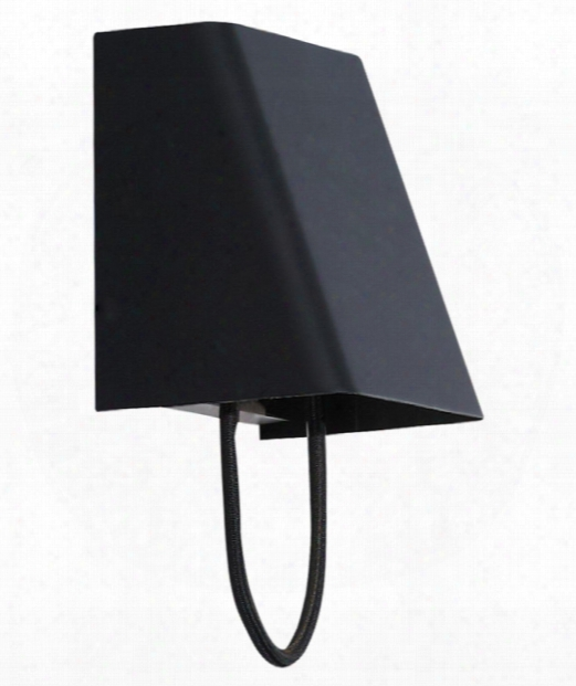 "Pull Small 4"" Led 1 Light Wall Sconce N Black"