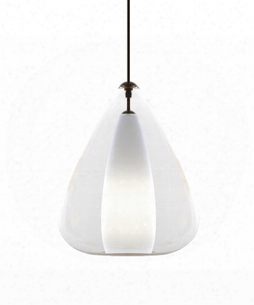 "Soleil 18"" 1 Light Large Pendant In Black"