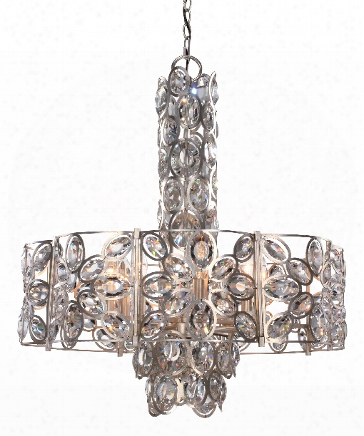 """Sterling 24"""" 8 Light Large Pendant In Distressed Twilight"""