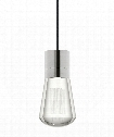 "Alva 4"" LED 1 Light Mini Pendant in Satin Nickel"