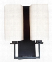 "Baldwin 11"" 2 Light Wall Sconce in Old Bronze"