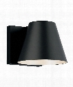 "Bowman 8"" LED 1 Light Wall Sconce in Black"