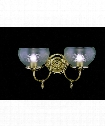 "Chancery 17"" 2 Light Wall Sconce in Polished Brass"