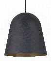 """Fett 18"""" LED 1 Light Large Pendant in Weathered Zinc"""